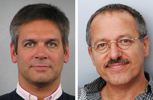 Otto Köpf (links) übergab das Amt des 1. Vorsitzenden an Detlev Nitsche